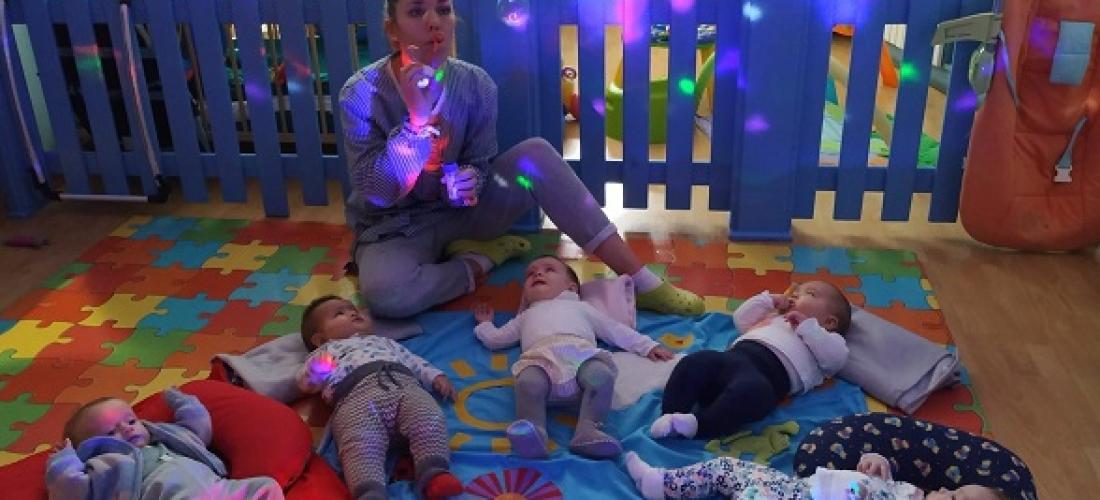 Taller fiesta de la luz con bebés